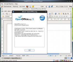 CentOs - OpenOffice